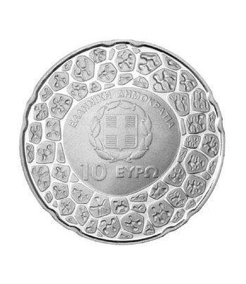 Euroset oficial de Grecia 2012 con 10€ Papanicolau  - 3