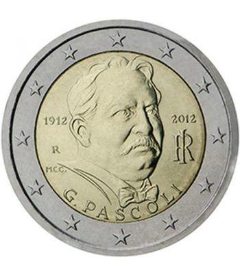 moneda conmemorativa 2 euros Italia 2012  - 2