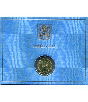 moneda conmemorativa 2 euros Vaticano 2012. Estuche Oficial.  - 1