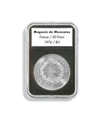 LEUCHTTURM Capsulas EVERSLAB 23 mm. (5) Capsulas Monedas - 2