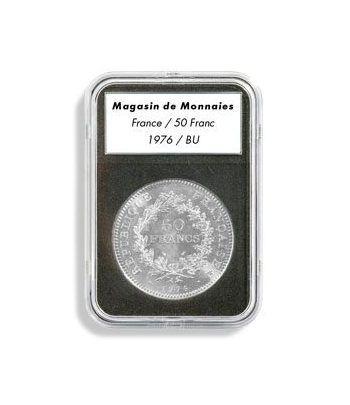LEUCHTTURM Capsulas EVERSLAB 28 mm. (5) Capsulas Monedas - 2