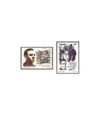 3356/57 Literatura española. Personajes de ficción  - 2