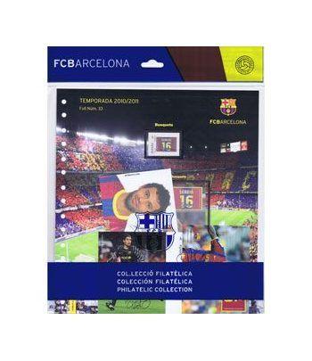 Colección Filatélica Oficial F.C. Barcelona. Pack nº14.  - 1
