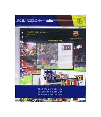 Colección Filatélica Oficial F.C. Barcelona. Pack nº15.  - 1