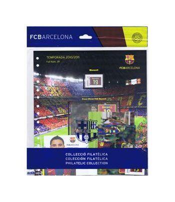 Colección Filatélica Oficial F.C. Barcelona. Pack nº17.  - 1