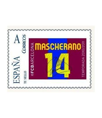 Colección Filatélica Oficial F.C. Barcelona. Pack nº18.  - 2