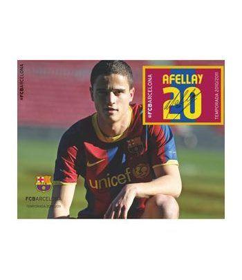 Colección Filatélica Oficial F.C. Barcelona. Pack nº19.  - 8
