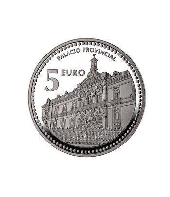 Moneda 2012 Capitales de provincia. Jaen. 5 euros. Plata.  - 2