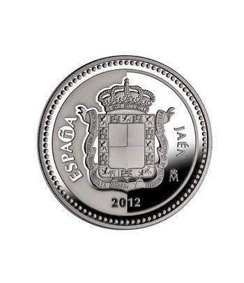 Moneda 2012 Capitales de provincia. Jaen. 5 euros. Plata.  - 4