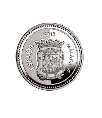 Moneda 2012 Capitales de provincia. Málaga. 5 euros. Plata.  - 2