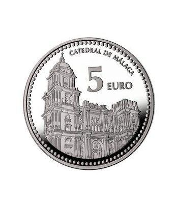 Moneda 2012 Capitales de provincia. Málaga. 5 euros. Plata.  - 4