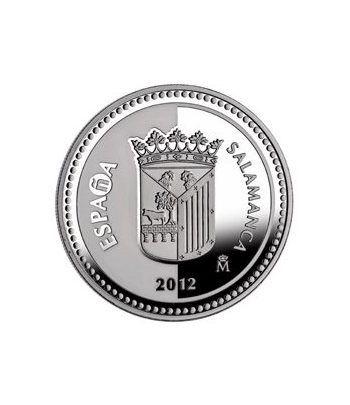 Moneda 2012 Capitales de provincia. Salamanca. 5 euros. Plata.  - 1