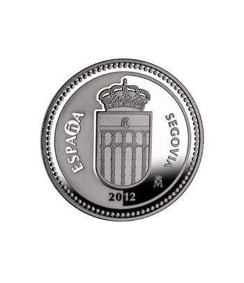 Moneda 2012 Capitales de provincia. Segovia. 5 euros. Plata.  - 2