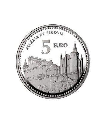 Moneda 2012 Capitales de provincia. Segovia. 5 euros. Plata.  - 4
