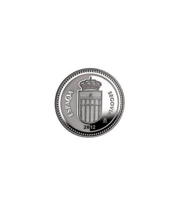 Moneda 2012 Capitales de provincia. Segovia. 5 euros. Plata.  - 1