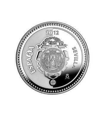 Moneda 2012 Capitales de provincia. Sevilla. 5 euros. Plata.  - 1