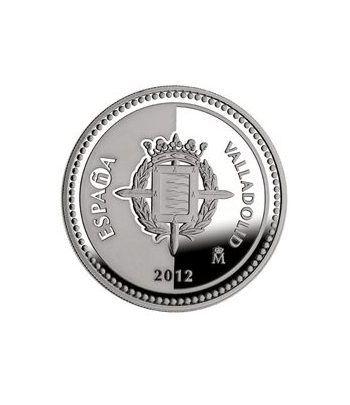 Moneda 2012 Capitales de provincia. Valladolid. 5 euros. Plata.  - 1