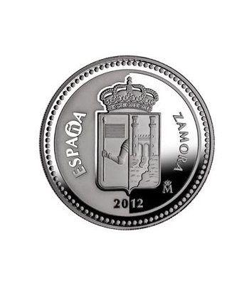 Moneda 2012 Capitales de provincia. Zamora. 5 euros. Plata.  - 1