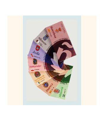 Capitales de provincia 52 monedas 5€ plata. Colección completa  - 1