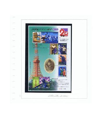 image: Cine. Francia 2007 Harry Potter carnet 10 sellos