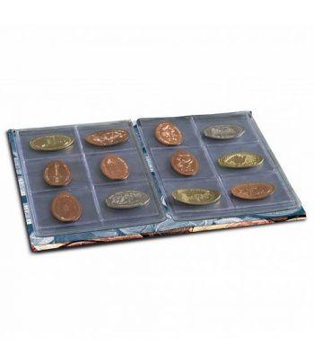 LEUCHTTURM Album monedas Pressed Penny. Monedas souvenir. Album Monedas - 2