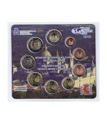 Cartera oficial euroset España 2013 (Emisión Berlín).  - 2