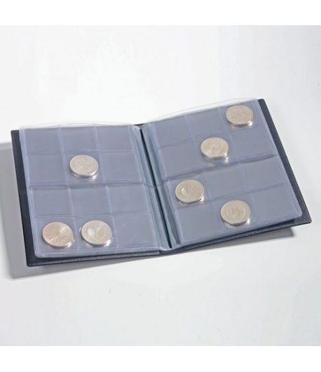 LEUCHTTURM Album monedas bolsillo ROUTE para 96 monedas. Album Monedas - 1