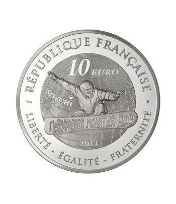 Francia 10 € 2013 Olimpiada Invierno. Snowboard.  - 1
