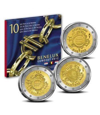 Cartera oficial euroset Benelux 2012.  - 2