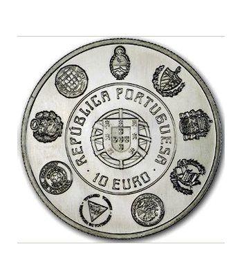 Portugal 10 Euros 2012 XX Aº Serie Ibero-Americana. Cuproniquel  - 1