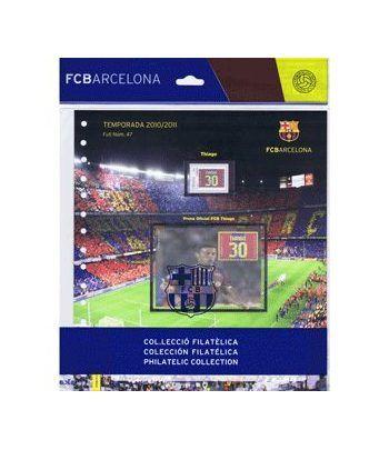 Colección Filatélica Oficial F.C. Barcelona. Pack nº21.  - 1