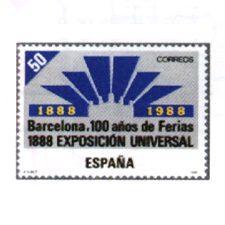 Sellos de España año 1988
