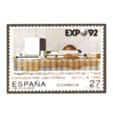 Sellos de España año 1992