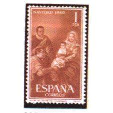 Sellos de España Año 1960