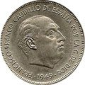 Monedas Estado Español - Pesetas de Franco