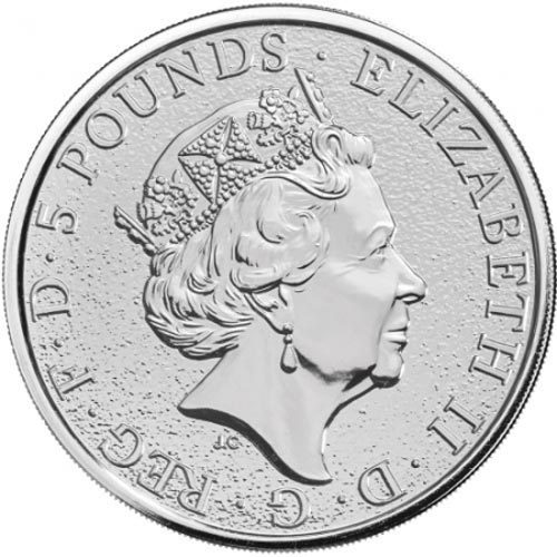 Monedas de Plata Inglaterra