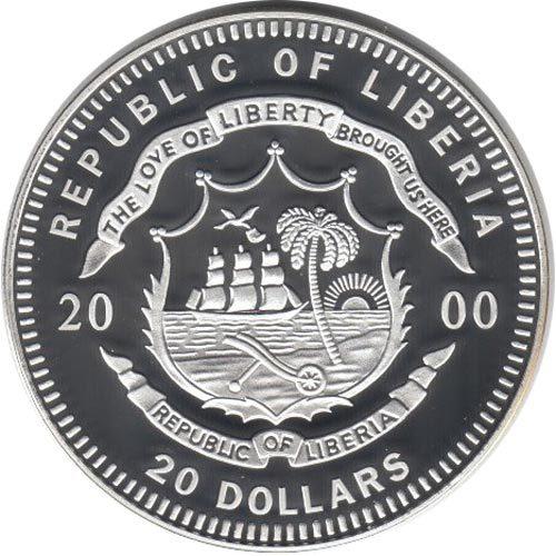 Monedas de plata Liberia