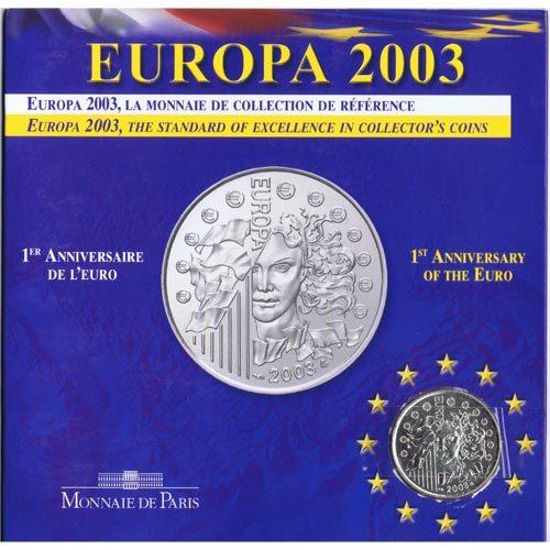 Monnaie de Paris 2003