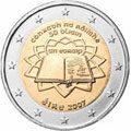 Monedas 2 Euro TRATADO DE ROMA 2007