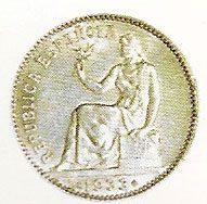 Monedas II Republica