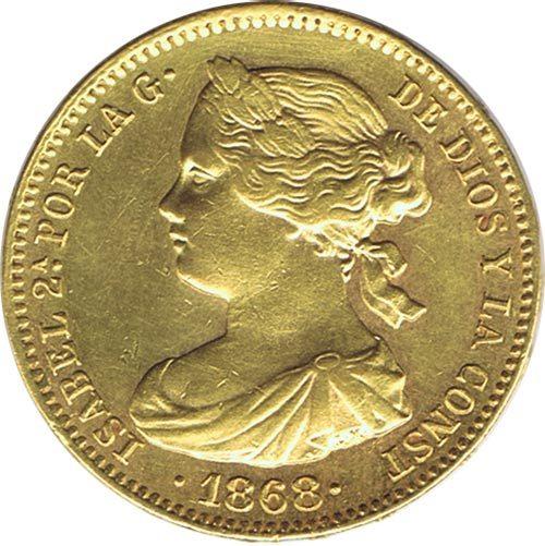 Monedas de España de oro