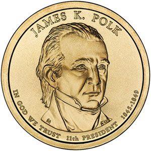 Monedas dolares presidenciales