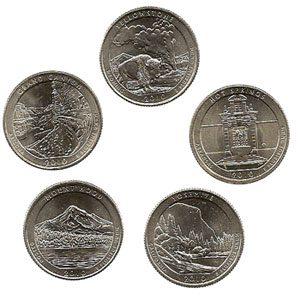 monedas cuarto de dolar 1/4 $