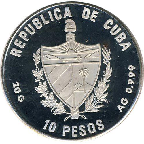 Monedas de Plata Cuba
