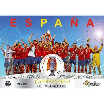 Sellos de España año 2012