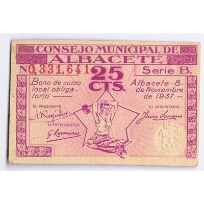 Billetes locales Guerra Civil