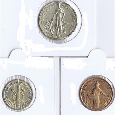 Monedas de la Guerra Civil