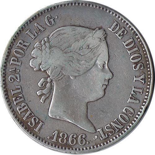 Monedas Isabel II