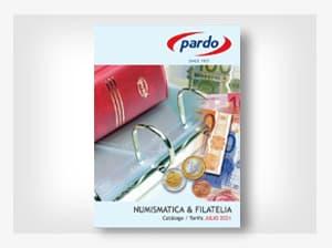 Pardo catálogo filatelia y numismática