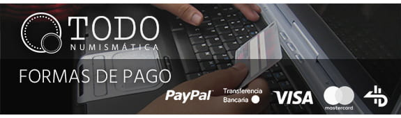 Pago seguro con Paypal Visa o Transferencia bancaria